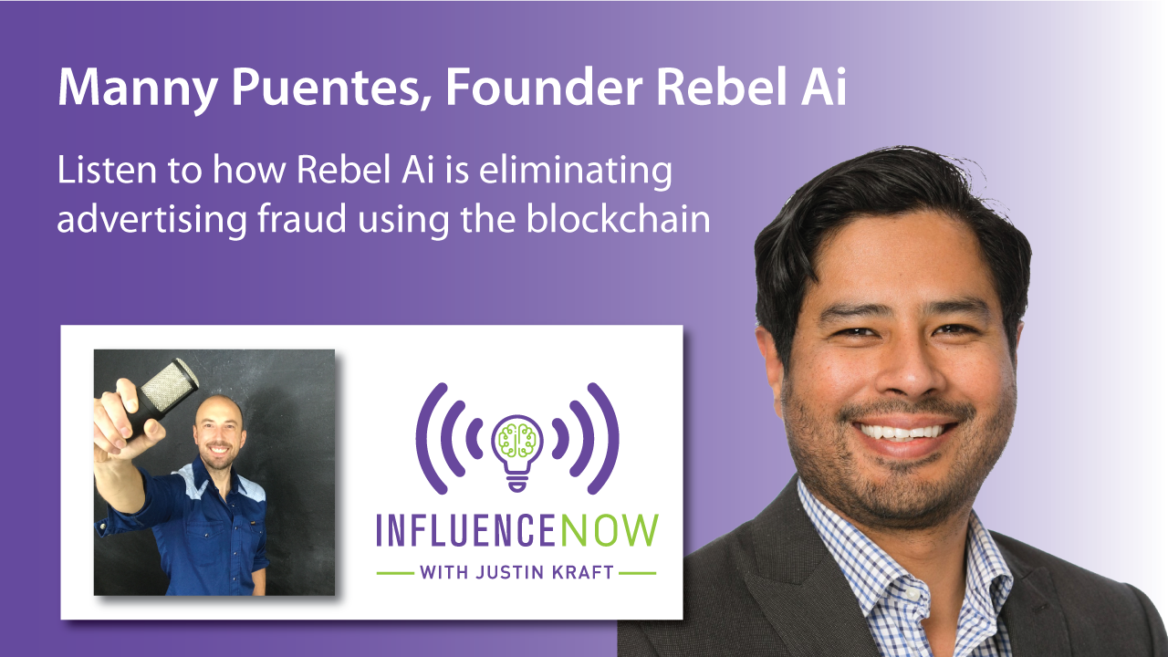 Manny Puentes Rebel Ai Digital Advertising Fraud Solution blockchain